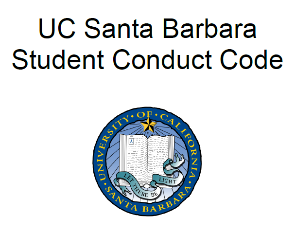 Student Conduct Code logo